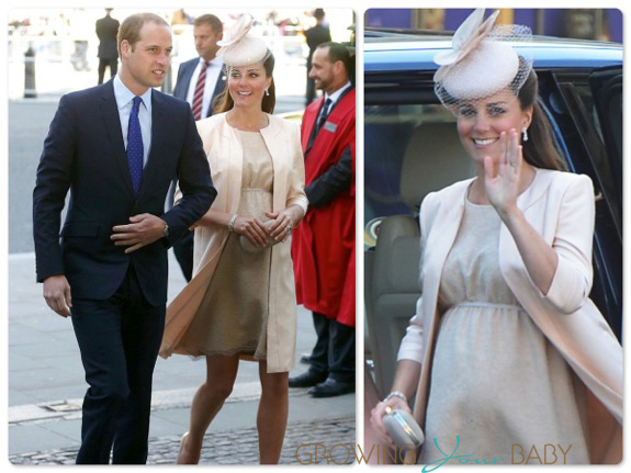 Duke and Duchess of Cambrige at the 60th Anniversary Coronation