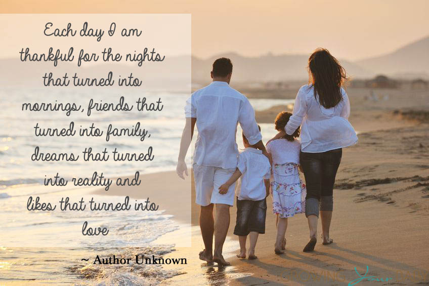 Each Day I Am Thankful Quote Growing Your Baby