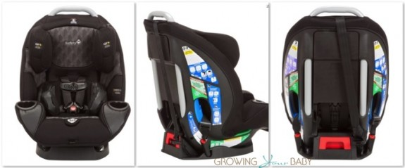 Safety 1st 3-in-1 Elite Air 80 Convertible Car Seat