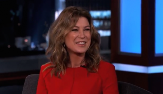 Ellen Pompeo on Jimmy Kimmel
