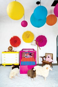 Ellen Pompeo's daughter's nursery