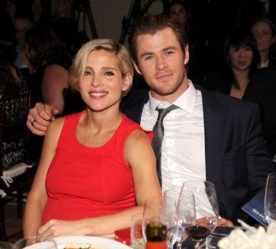 Elsa Pataky and chris hemsworth help haiti Gala