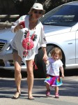 Elsa Pataky with daughter India in Malibu