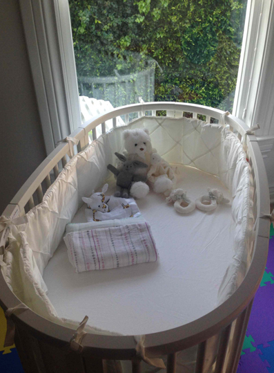 Elsa Pataky's twins nursery