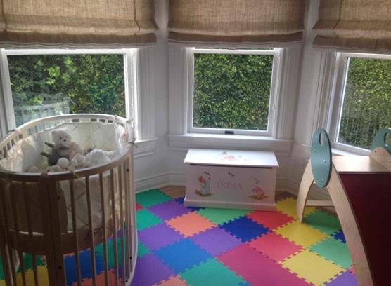 Elsa Patakys twins nursery