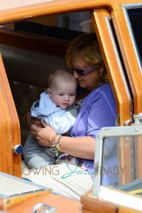 Elton John Amp David Furnish With Their Sons In Venice