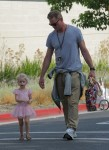 Eric Dane with daughter Georgia