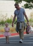 Eric Dane with daughter Georgia
