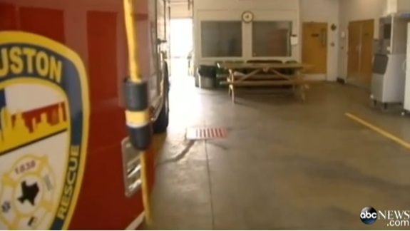 Firefighters find baby at the firehouse