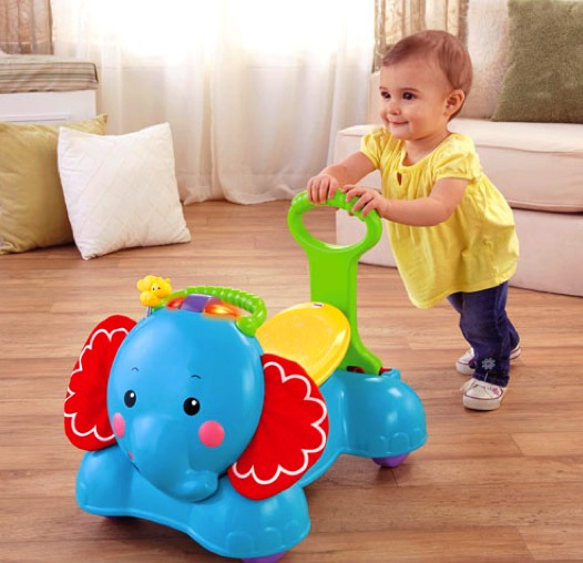 Fisher-Price 3-in-1 Bounce, Stride and Ride Elephant