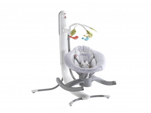 Fisher-Price 4-in-1 Smart Connect  Cradle n Swing