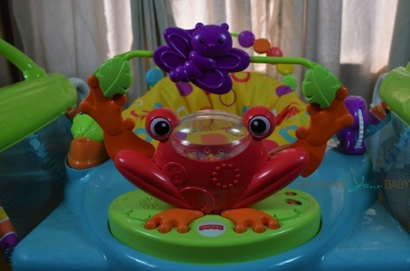 Fisher-Price First Steps Step'N Play Jumperoo - musical frog