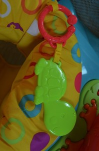 Fisher-Price First Steps Step'N Play Jumperoo - teether