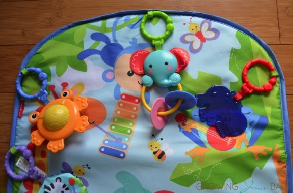 Fisher-Price Kick N Play Piano Gym - tummy time