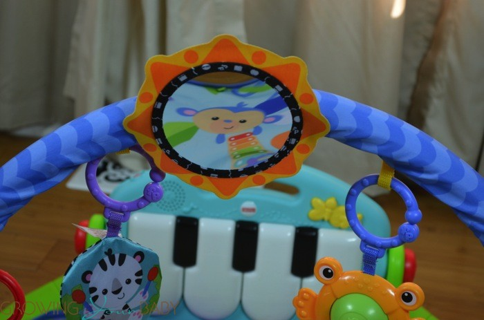 fisher price kick and play piano gym instructions