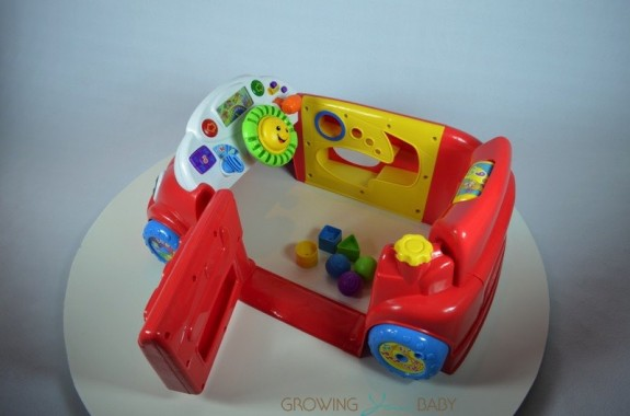 Fisher-Price Smart Stages Crawl Around Car