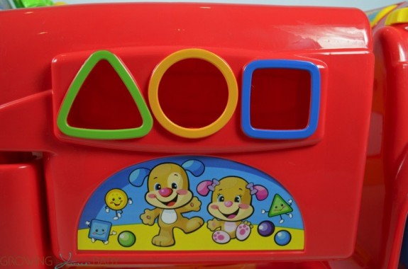 Fisher-Price Smart Stages Crawl Around Car - Sorting panel