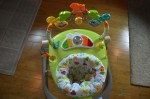 Fisher-Price Woodland Friends Space Saver Jumperoo - from above