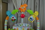 Fisher-Price Woodland Friends Space Saver Jumperoo - toy bar