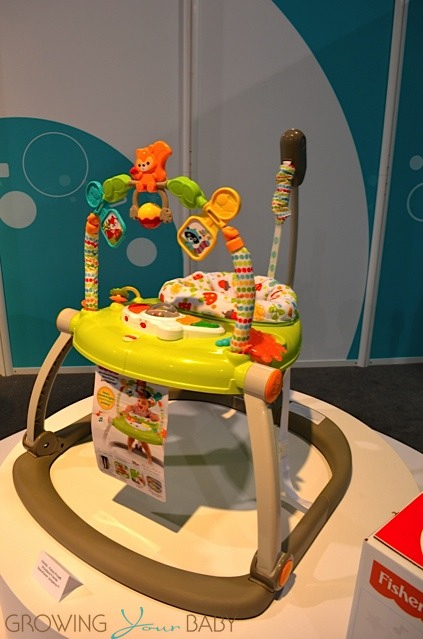 818cca124c1f Fisher-Price Woodland Friends SpaceSaver Jumperoo - Growing Your Baby