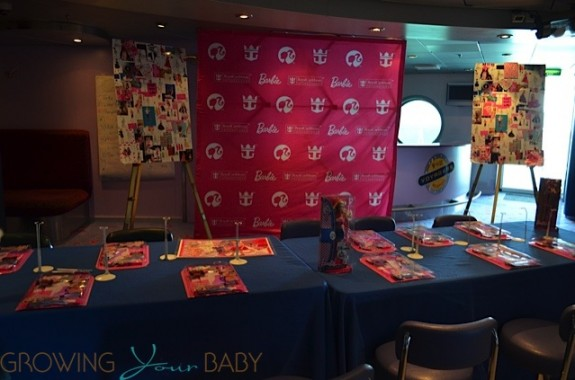 Freedom of the Seas - Barbie premium experience dress making