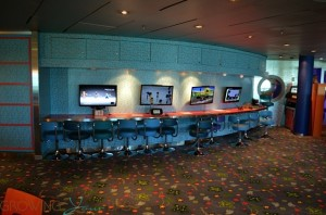Freedom of the Seas - Explorers video game section