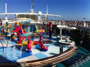 Freedom of the Seas - H20 zone