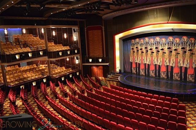 Freedom Of The Seas Arcadia Theater Growing Your Baby
