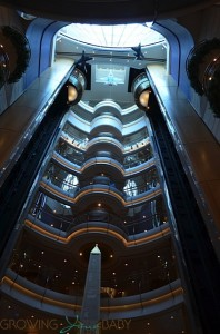 Freedom of the Seas - atrium