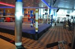 Freedom of the Seas - boxing ring