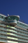 Freedom of the Seas - cantilevered whirlpool