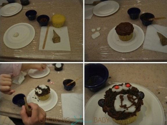 Freedom of the Seas - cupcake decorating