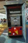 Freedom of the Seas - ice cream machine