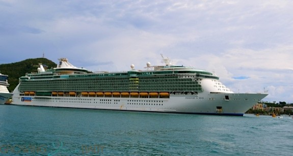 Freedom of the Seas in St. Thomas