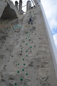 Freedom of the Seas - rockclimbing wall