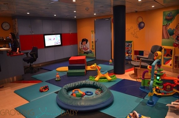 Freedom of the Seas - royal babies and tots play area