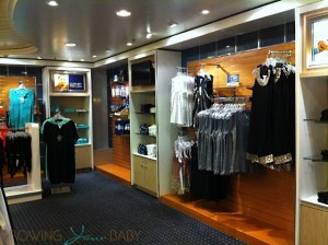 Freedom of the Seas - shops on board