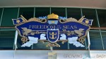 Freedom of the Seas sign