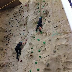 Freedom of the Seas - son rock climbing