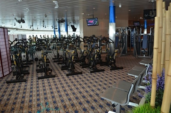Freedom of the Seas - spinning class