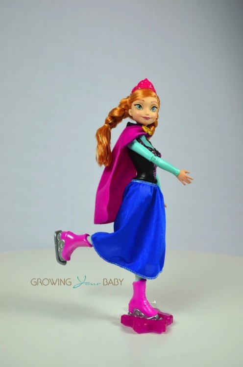 Frozen Skating Anna Doll