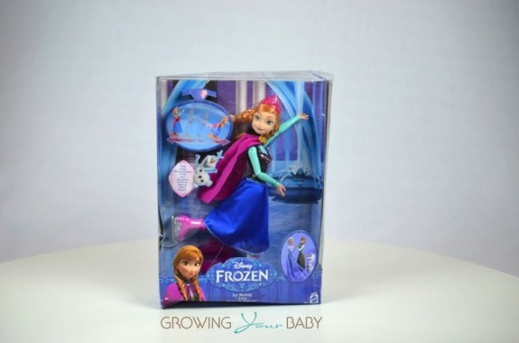Frozen Skating Anna Doll - in the package
