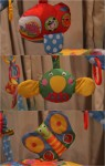 Galt Toys playnest & Gym - hanging characters