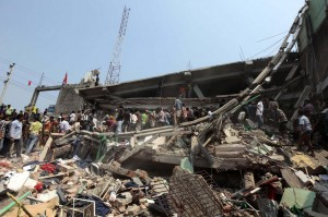Garment Building collapse in Bangladesh