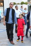 Gavin Rossdale out for ice cream with his son Kingston