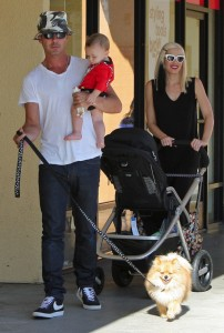Gavin Rossdale out in LA with son Apollo and wife Gwen Stefani