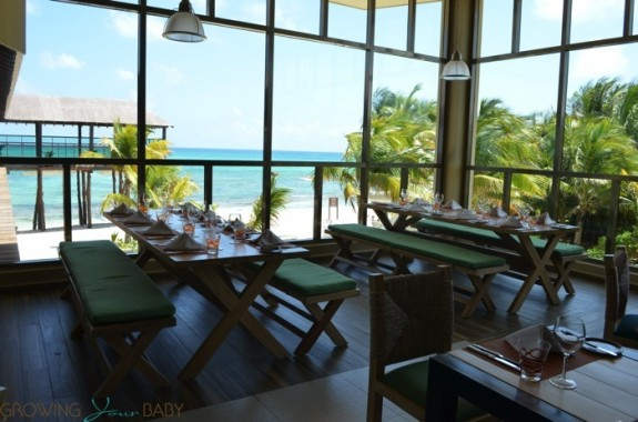 Generations Riviera Maya - chef's market ocean views