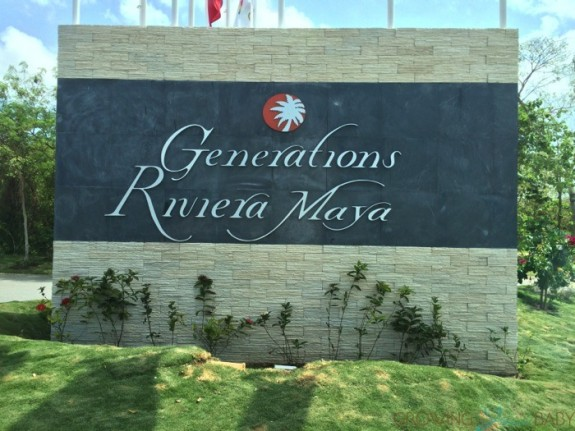 Generations Riviera Maya entrance