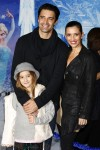 Gilles Marini, wife Carole and daughter Juliana attend the Disney's 'Frozen' Los Angeles premiere