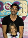 Gilles Martini with daughter Juliana at Doc McStuffins event in LA